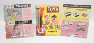 Early Toy Catalogs