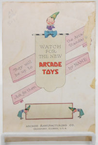 Arcade Toys Brochure
