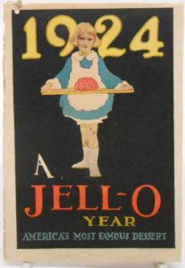 1924 Jello Recipe book