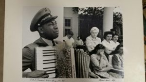 EDWARD CLARK – PHOTO OF F.D.R.'S FUNERAL