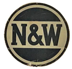 N&W sign